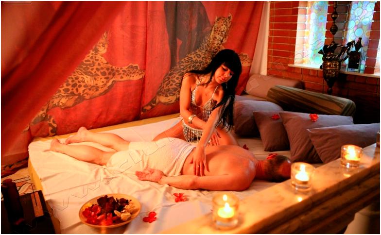 тайский массаж в интим салоне